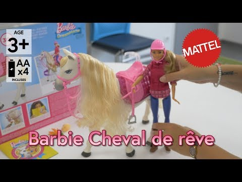 half off hot products exclusive range Barbie Cheval de rêve (Grand prix du jouet 2017) - Démo en ...