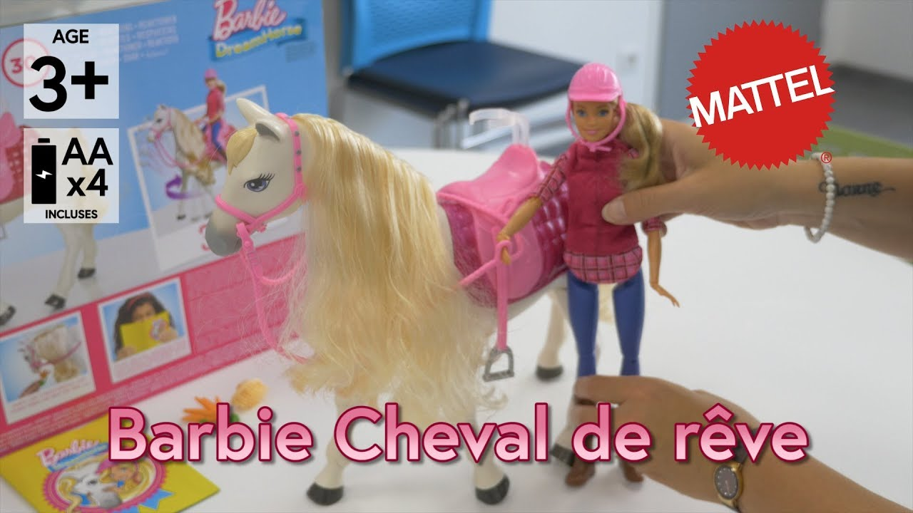 barbie cheval de rve grand prix du jouet 2017 dmo en franais hd fr - Barbie Cheval