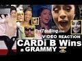 Cardi B Wins Grammy & Goes Crazy! Safaree, Lil Kim, Remy Ma & Iggy Are HAPPY! (ViDEO) 🏆✔️👀