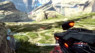 Halo 4 Multiplayer Gameplay: CTF  On Ragnarok and Perfection