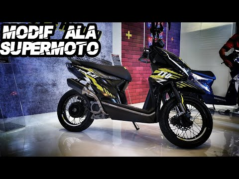 Keren Parah Modifikasi New Honda Beat Sporty New Beat Street 2020 Youtube