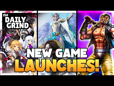 THE DAILY GRIND | Two New Mobile Mmos! MOBILE GAMING NEWS