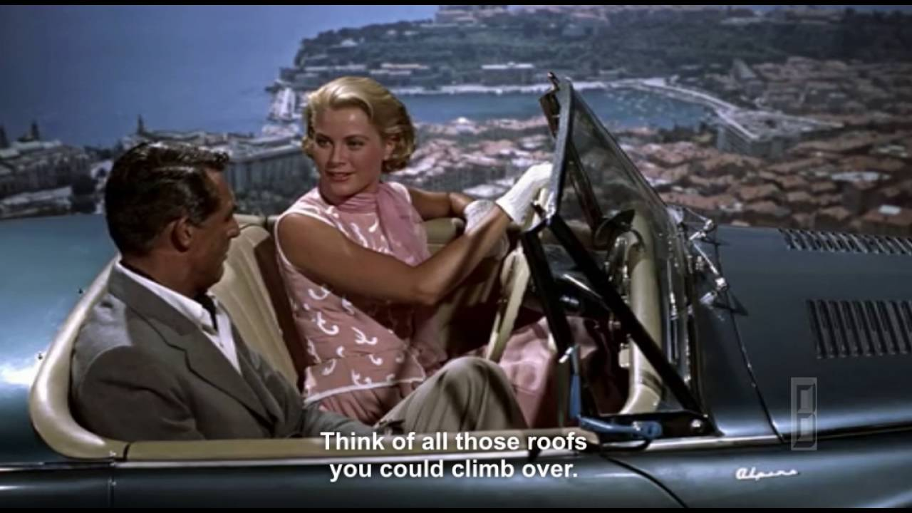 Grace Kelly Picnics With Cary Grant In Monaco To Catch A Thief
