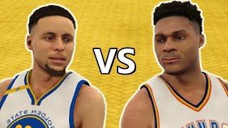 STEPHEN CURRY vs. RUSSELL WESTBROOK | NBA2K18 MIXTAPE