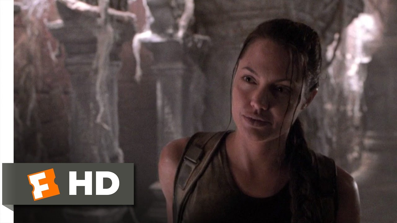 Lara Croft Tomb Raider 5 9 Movie Clip Army Of Statues 2001