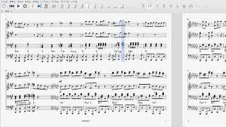 【ピアノ4手連弾】雨宮天 一番星 Full Ver.【楽譜】