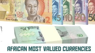 TOP 10 COUNTRIES WITH STRONGEST CURRENCIES IN AFRICA 2021 Most Expensive Currencies