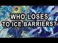WHO LOSES TO ICE BARRIERS?!? RARE VIDEO
