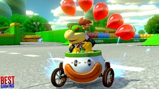 Mario Kart 8 Deluxe - Balloon Battle All Courses (No Teams - Battle Mode)