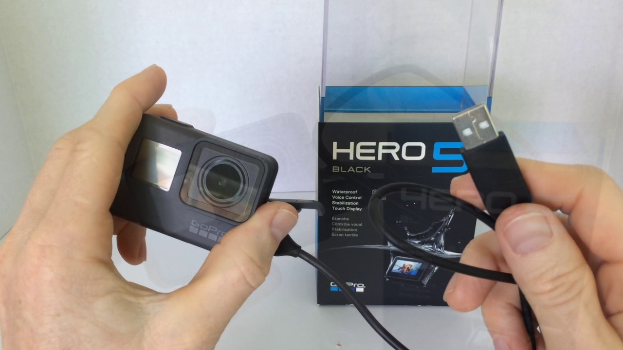 Gopro Hero 5 Hero 6 Black How To Charge Connect To