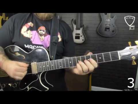 Jazz Guitar Metronome Exercise - Autumn Leaves 2 & 4 - Develop Timefeel