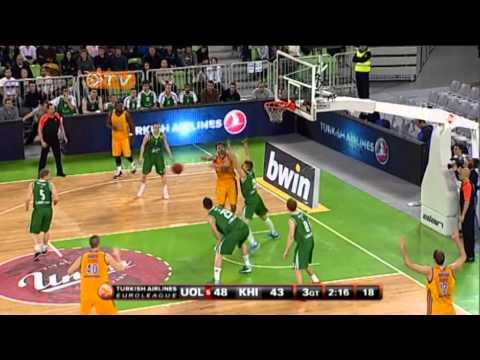 Highlights: Union Olimpija-BC Khimki Moscow