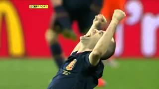 Iniesta goal in World Cup final. HD