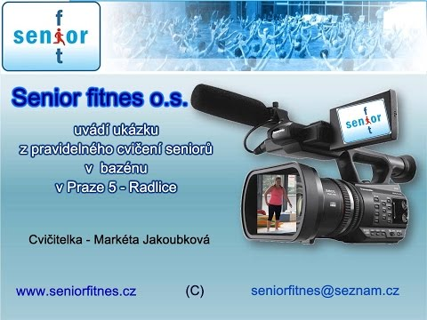 Aqua - aerobic se Senior fitnes z. s.