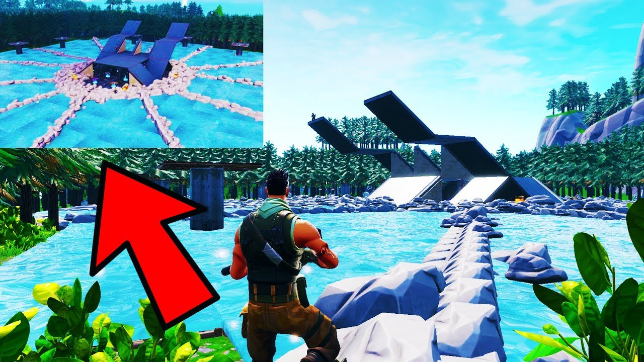 Hunger Games Map 2 Fortnitecreative