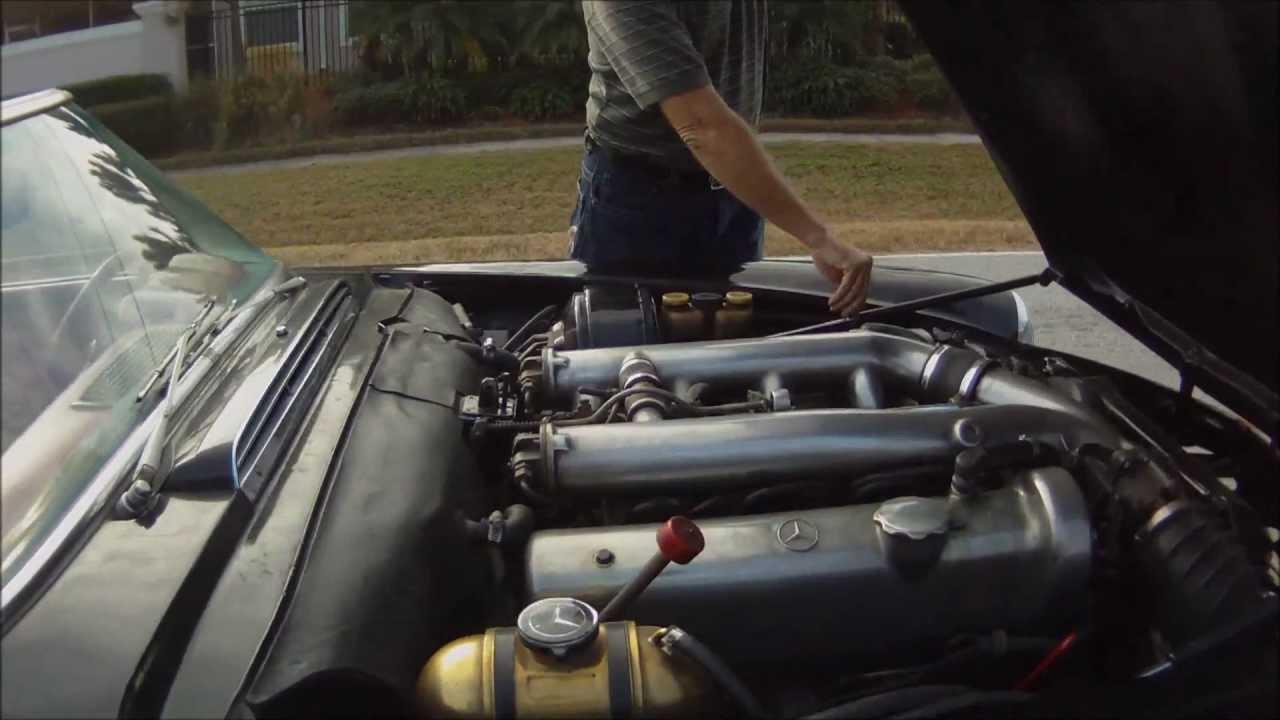 Insane Motor Swap - Mercedes 280sl 6 3 liter