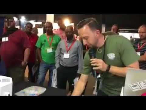 Facebook video of JG Electronics At the 2017 JHB Sign Africa Expo