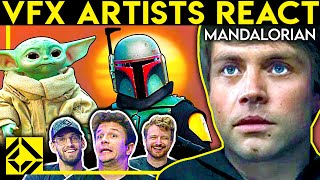 VFX Artists React to THE MANDALORIAN Bad & Great CGi