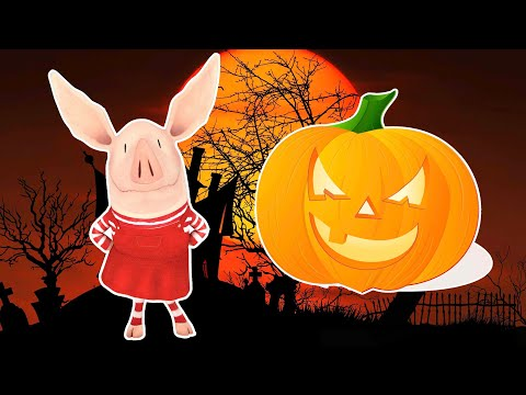 Olivia the Pig 🎃Olivia and the Crystal Ball 🎃Halloween Special 🎃Kids Cartoon 🎃Videos For Kids