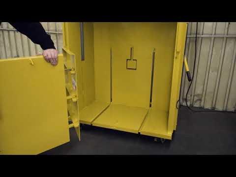 M42BC Vertical Cardboard Baler