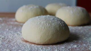 Italienischer Pizzateig Selber Machen (Rezept) || Italian Pizza Dough (Recipe) || [ENG SUBS]