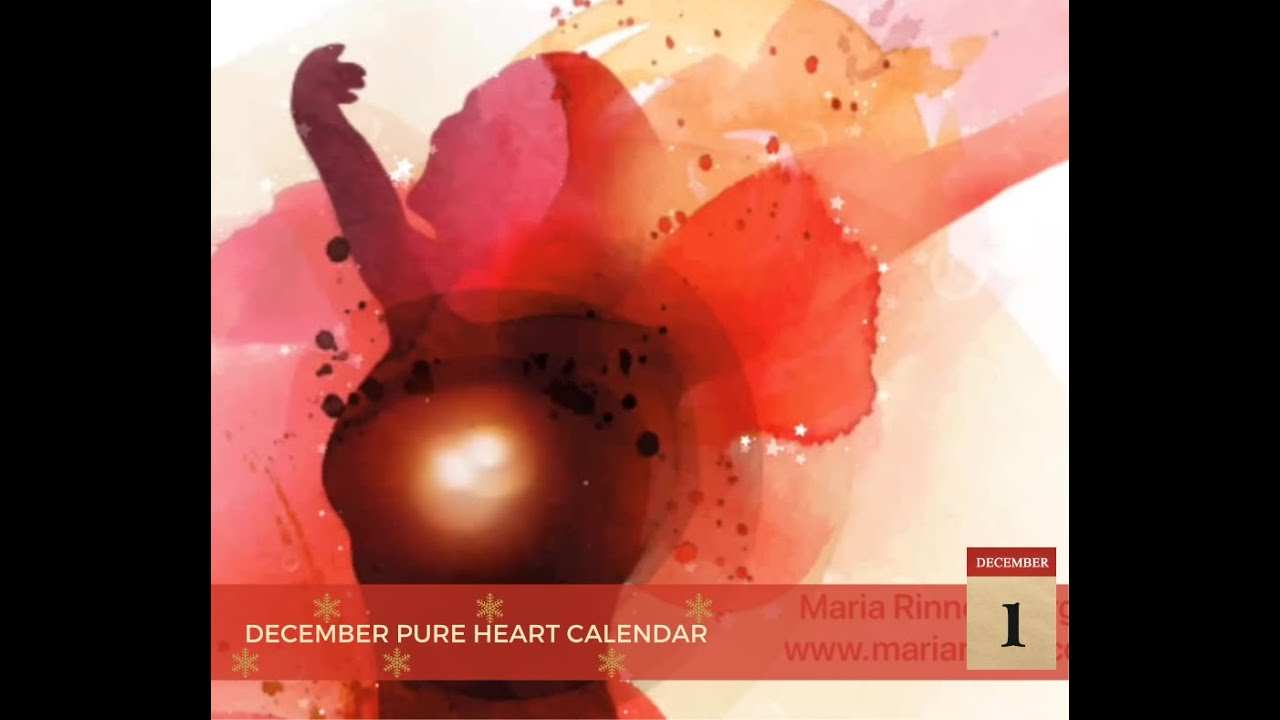 December Pure Heart Calendar - 13/12