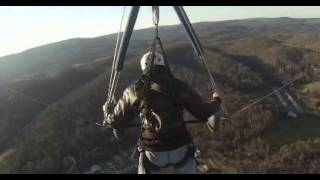 Hang gliding Lookout Mountain Flight 1