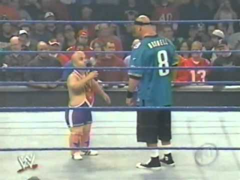 Kurt Angle Imitates John Cena - SD 10/17/2003