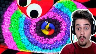 Slither.io - MOD DE SLITHERIO // CRESCENDO SUPER RÁPIDO!! ‹ AbooT ›