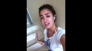 أجمل صوت في العالم العربي يتفوق على أصوات مشاركين عرب أيدول 2014   nina abdel malak