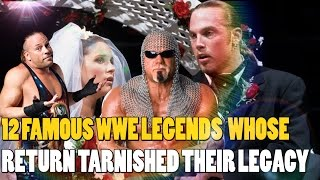 12 Famous Wrestling Legends Whose WWE Return Tarnished Their Legacy