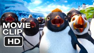 Happy Feet Two #1 Movie CLIP - Robin WIlliams, Fat Chance (2011) HD