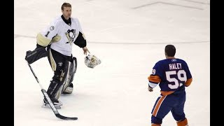 NHL Goalies Vs Players