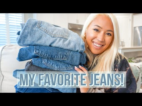 MY FAVORITE PAIRS OF JEANS | Petite Try-On + Styling My 6 Best Jeans Worth The Money In 2020