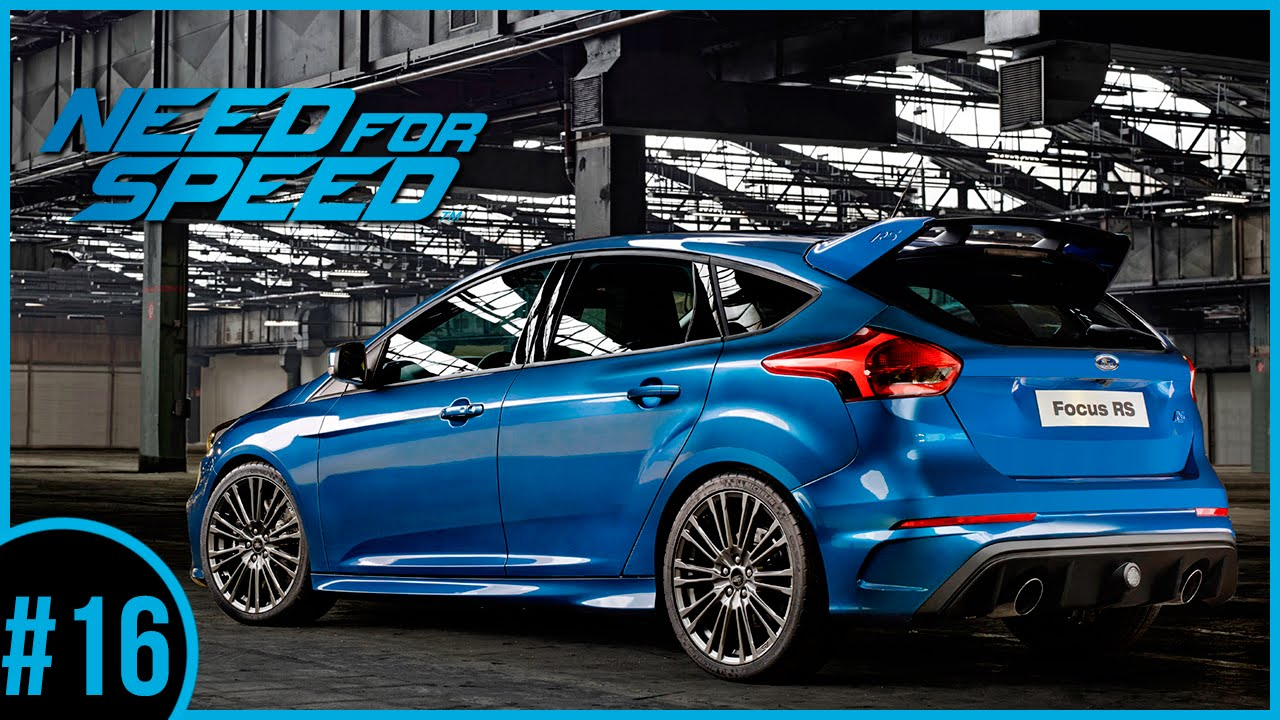 need for speed 2015 16 ford focus rs 2016 novo carro. Black Bedroom Furniture Sets. Home Design Ideas