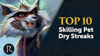 Top 10 skilling pets dry streaks - RuneScape