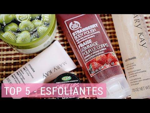 Melhores esfoliantes - Top 5 | Lia Camargo