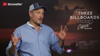 Interview Woody Harrelson THREE BILLBOARDS OUTSIDE EBBING, MISSOURI
