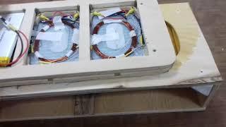 Беспроводная зарядка для автономного робота