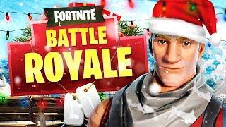 CHRISTMAS FORTNITE BATTLE ROYALE!
