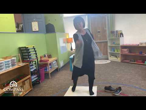 Moving with African Dance | Remote Lesson | Compass Montessori School of Federal Way
