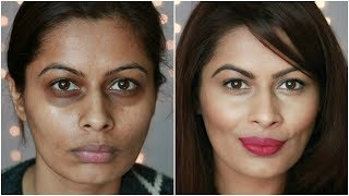 Makeup Basics: डार्क सर्कल कैसे छुपाएं | How to Cover Dark Circles | Concealing Basics | Kavya K