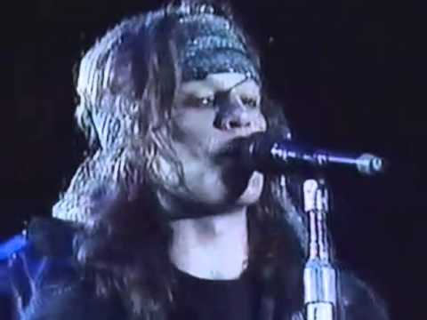Bon Jovi Blood On Blood Live Chile 1990