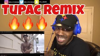 Dax went crazy on this!!!   Tupac - Hit em Up (Dax Remix) [One Take]   REACTION