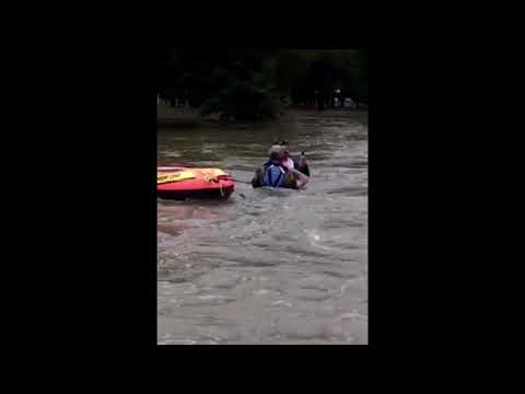 CBP Air and Marine Swift Water Rescue