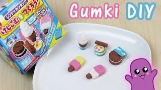 Gumki do ścierania DIY lody - Kutsuwa eraser kit #3