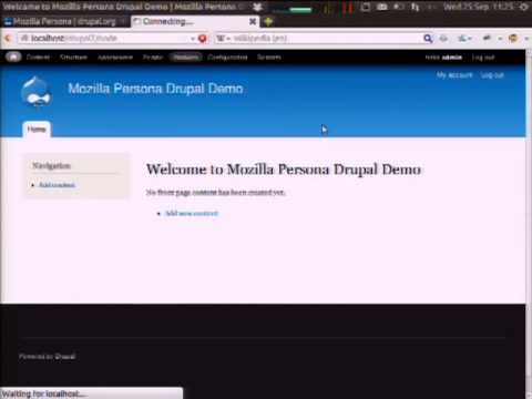 DrupalCon Prague 2013: MOZILLA PERSONA: THE WEB'S DECENTRALISED IDENTITY API