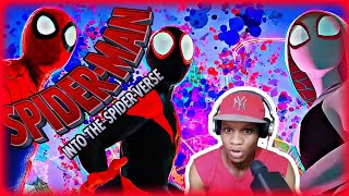 Spider-Man: Into The Spider-Verse - Movie REACTION!! 🔥🔥 Jamaican reacts