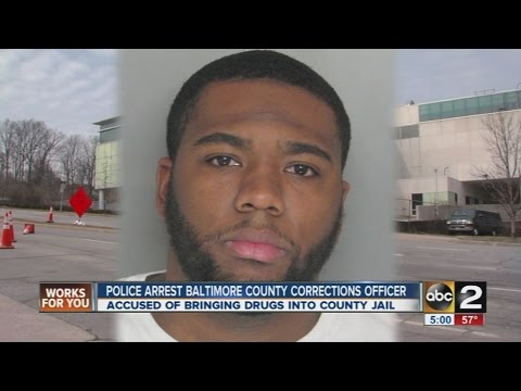 Baltimore County corrections officer charged in drug conspiracy at detention center