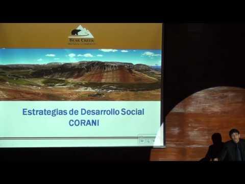 Proyecto Corani, Una Experiencia A Compartir ::: Jueves Minero IIMP